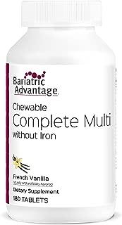 Bariatric Advantage - Complete Chewable Multivitamin - French Vanilla, 180 Count