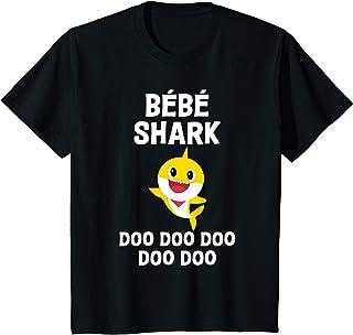 Enfant Bébé Shark Doo Doo Doo Garçon Fille Cadeau Anniversaire T-Shirt