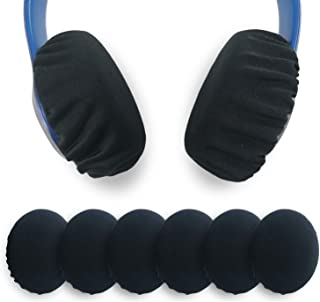 Xklmb 3 Pairs Stretchable Fabric Headphone Covers/Washable Sanitary Ear pad,Earcup Earpad Covers Fit Most On Ear Headphone...