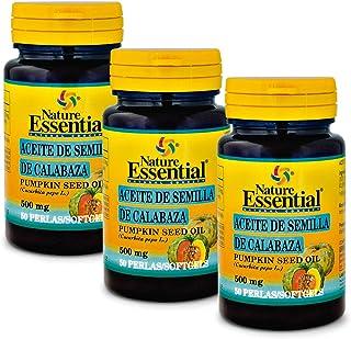 Aceite de semilla de calabaza 500 mg. 50 perlas (Pack 3 unid