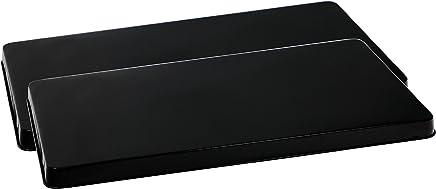 featured product Reston Lloyd R-105-B Rectangular Stove Burner Covers,  Set of 2,  Black