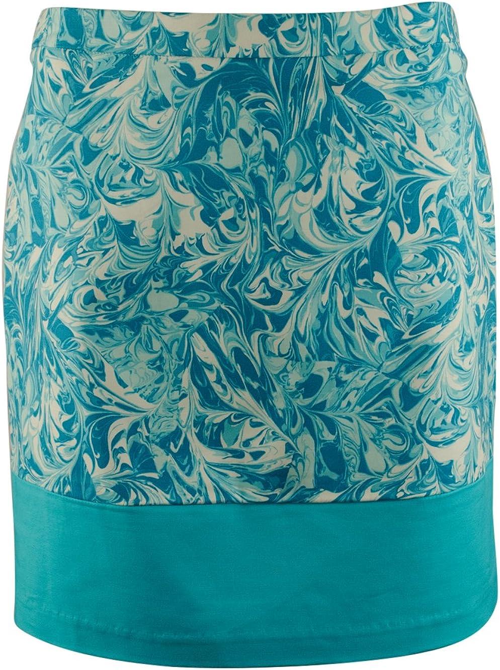 Women's Petite Patterned Mini Skirt