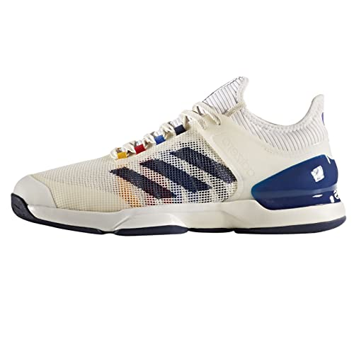 cb9e79eb48835 adidas Adizero Ubersonic 2 PW Men s Tennis Shoe White Navy Red