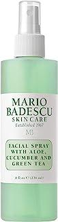 Mario Badescu Facial Spray with Aloe, Cucumber and Green Tea, 8 Fl Oz