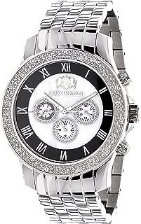 Designer Watches LUXURMAN Mens Diamond Watch 0.25ct