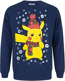 Vanilla Undergound Pokemon Pikachu Men's Christmas Sweater