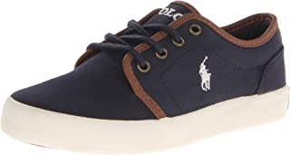 Polo Ralph Lauren Kids Ethan Low Lace-Up Sneaker (Little Kid/Big Kid)