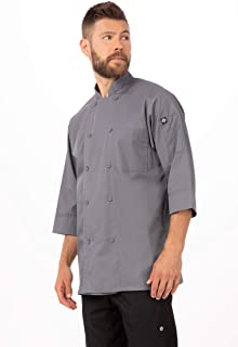 grey chef coats