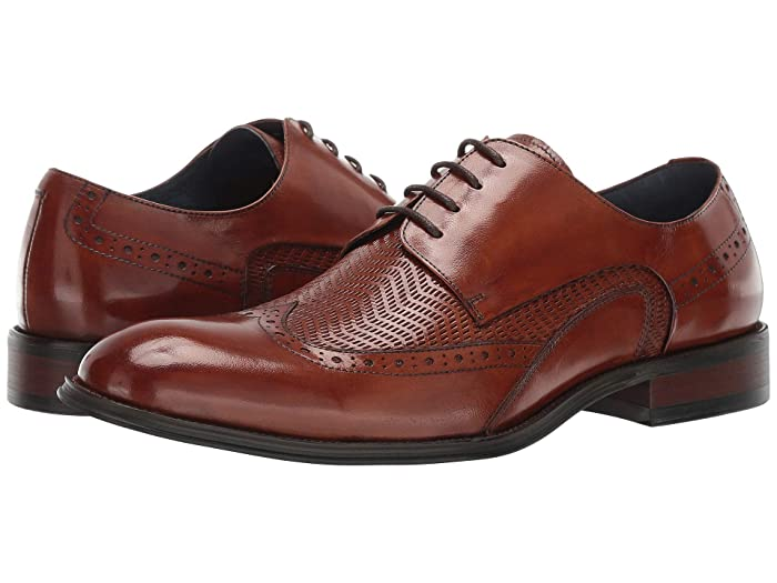 1950s Men's Clothing Stacy Adams Maguire Tan Mens Shoes $104.95 AT vintagedancer.com
