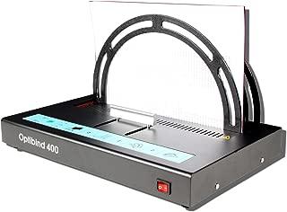 OPTI CombBind 400de encuadernación térmica compacta profesional de encuadernación térmica con 3ajustes de encuadernación.