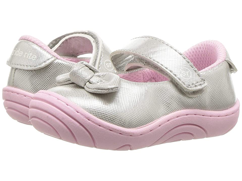 Stride Rite Lily (Infant/Toddler) (Silver) Girl