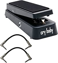 JIM DUNLOP Crybaby GCB-95 Classic Wah Pedal w/2 Free Patch Cables
