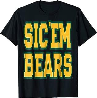 Baylor University Bears Sic Em Bears Football Basketball