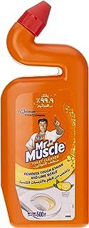 Mr Muscle Duck 5in1 Lemon Toilet Cleaner, 500 ml