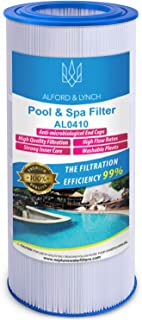 Alford & Lynch Pool Spa Filter Replacement for American Predator 100, Pentair Clean & Clear 100, Pentair R173215 System Replaces Baleen AK-8003, Filbur FC-0686, Pleatco PAP100-4, Unicel C-9410 (1)