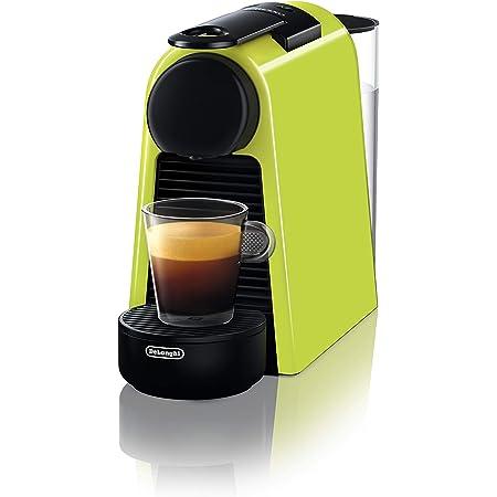De' Longhi EN 85.L Macchine del caffè Essenza Mini Nespresso, 1370 W, 1 Cups, Plastica, Lime