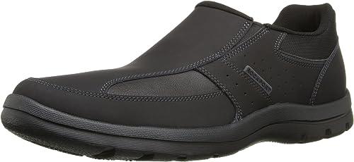 Rockport Men's Get Your Kicks Slip-On schwarz Loafer 11 W (EE)-11 W