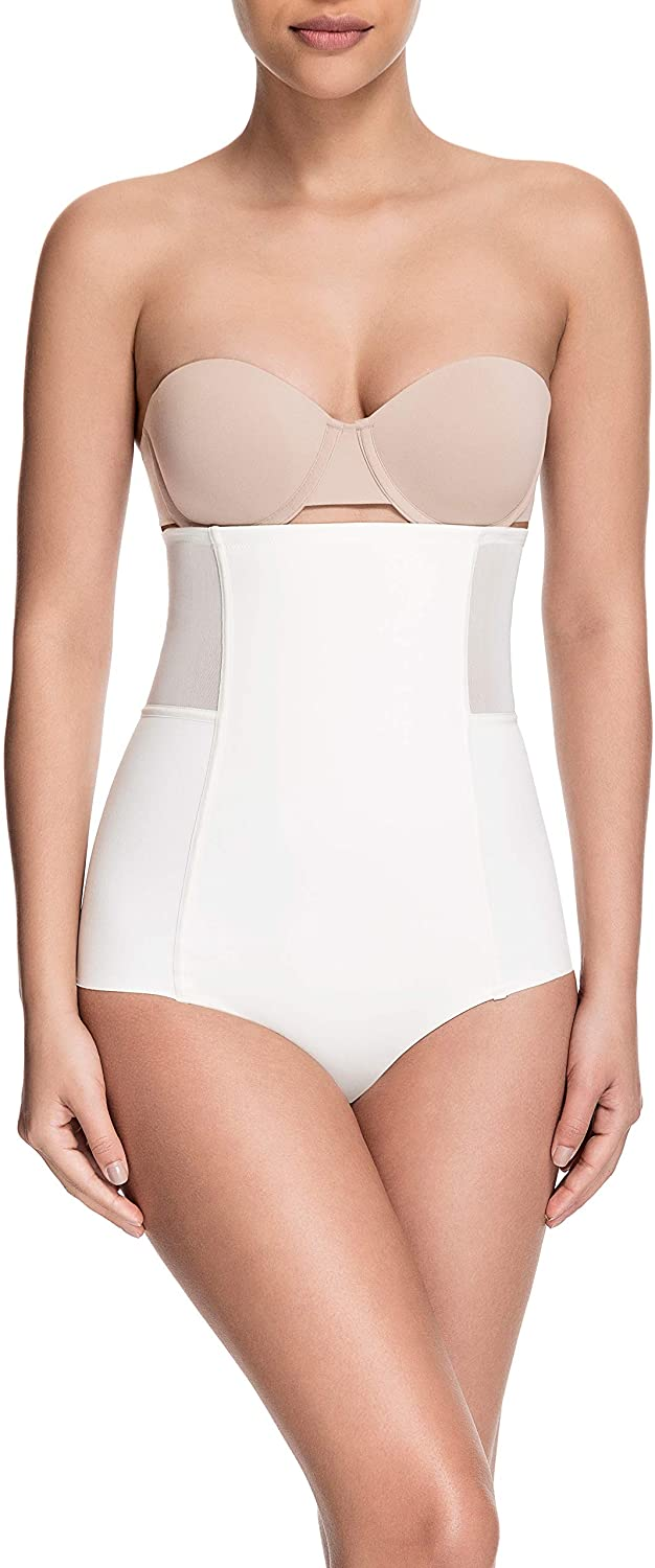 Squeem - Sheer Allure, Women's Slimming High Waist Tulle Shaping Panty