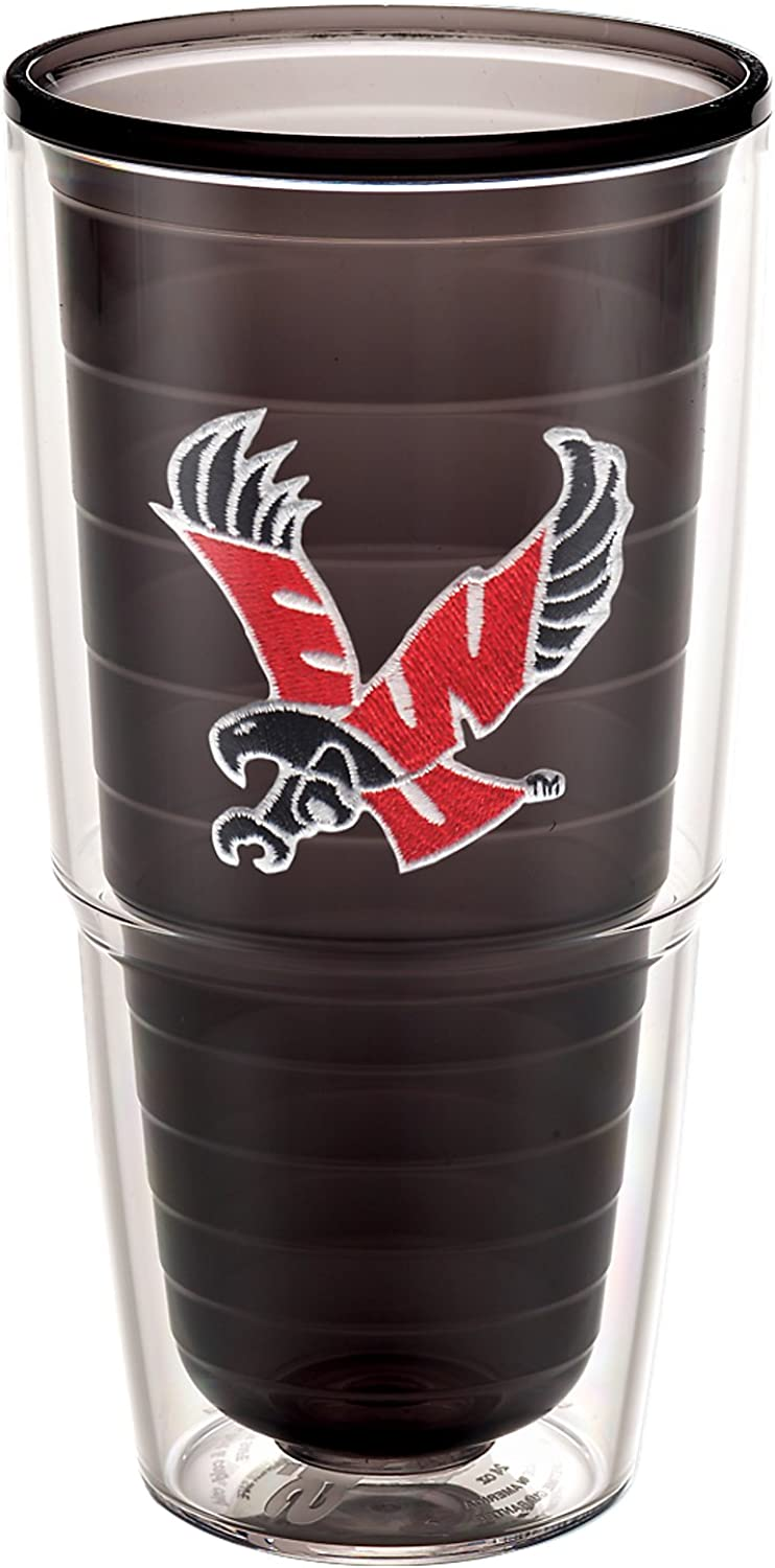 Tervis 1192170 E Washington University Emblem Individual Tumbler, 24 oz, Quartz