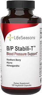 Sponsored Ad - LifeSeasons - B/P Stabili-T - Supports Cardiovascular Health and Blood Circulation - with Ashwagandha, Hawt...