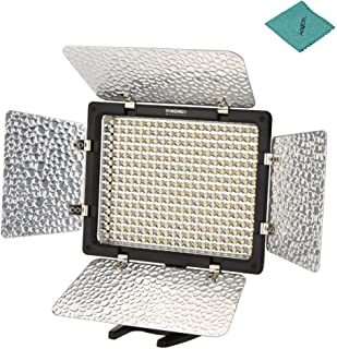 Yongnuo_ YN300 III YN-300 III LED Camera Video Light with 5500k Color Temperature and Adjustable Brightness for Cameras