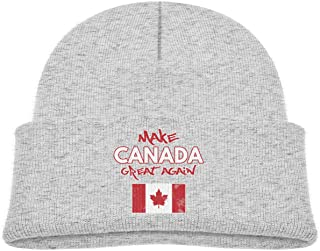 Make Canada Great Again Beanie Caps Skull Hat Baby Girls