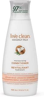 Live Clean Coconut Milk Moisturizing Conditioner, 12 oz.