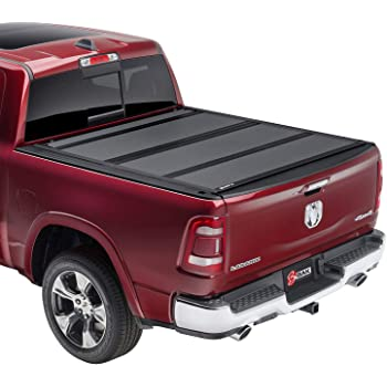 Amazon Com Bak Bakflip Mx4 Hard Folding Truck Bed Tonneau Cover 448227 Fits 2019 2021 Dodge Ram 1500 Does Not Fit With Multi Function Split Tailgate 5 7 Bed 67 4 Automotive