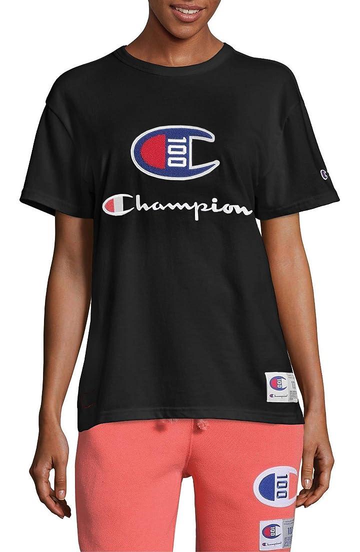 相談優勢テニス[チャンピオン] レディース Tシャツ Champion Century Collection Logo Tee [並行輸入品]