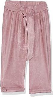 Giggles Plain Belt Loop Waist Tie Pants for Girls