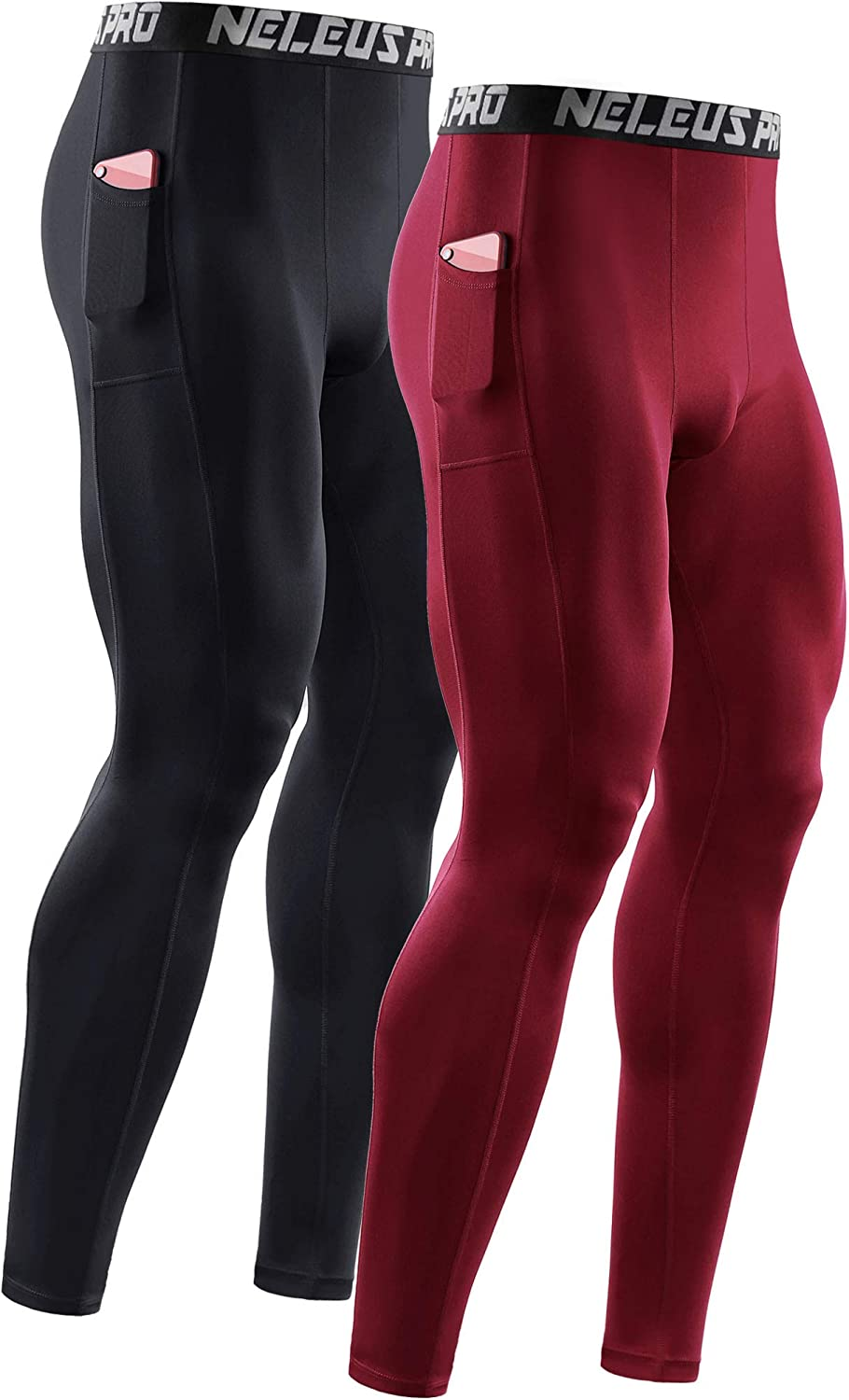 Japan Maker New Max 69% OFF Neleus Men's Dry Fit Compression Pants Running Baselayer Tights