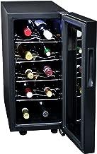 Koolatron KWT10B 10-Bottle Digital Temperature Control Wine Cellar, Black