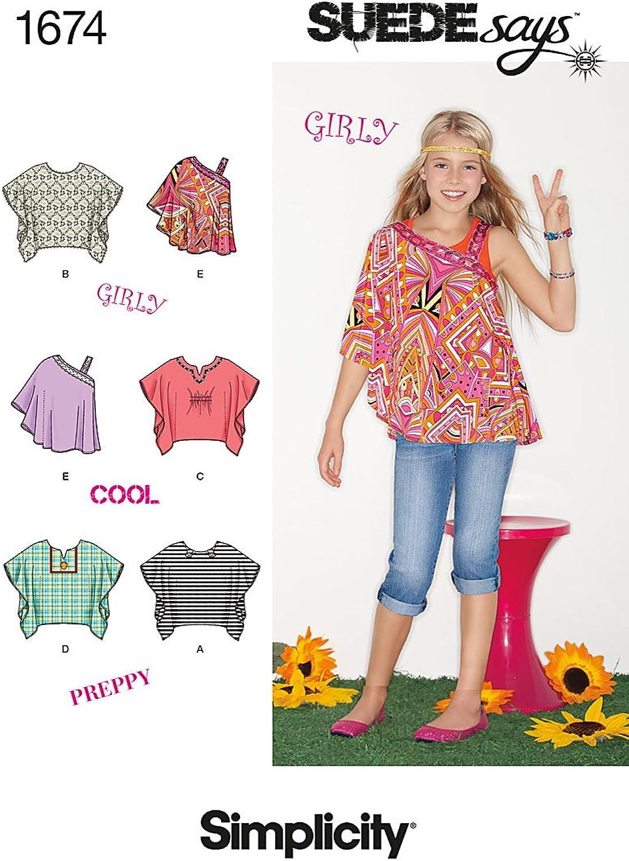 Simplicity Simplicity Simplicity Girl Boy Tops Vests-8-10-12-14-16 B00BVNV4LE | Deutschland Store  92496b