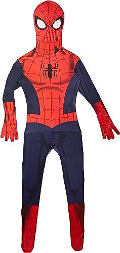 El nuevo outlet de marcas online. Morphsuits 'Spider-Man' - Disfaz Oficial, Color azul  rojo, Talla Talla Talla M 5'4  (161 cm)  hasta un 50% de descuento