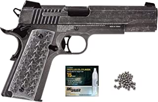 We The People SIG Sauer 1911 BB Air Pistol with CO2 12 Gram (15 Pack) Bundle