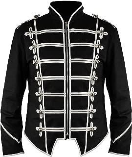 Steampunk Military Drummer Emo MCR Punk Gothic Parade Jacket