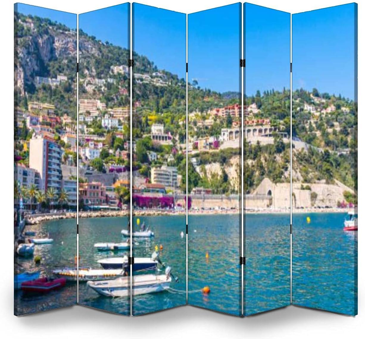 Dola-Dola 6 Panel Screen Free shipping New Room Franc Brand new sur Mer Villefranche Divider