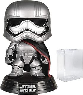 Star Wars: The Force Awakens - Captain Phasma Funko Pop! Vinyl Figure (Includes Compatible Pop Box Protector Case)
