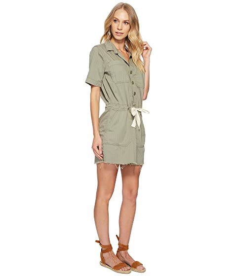 Lucky Brand Drawstring Dress Sage Fray Marketable Visa Payment Outlet Cheap Outlet Genuine With Credit Card 7MYeCWk