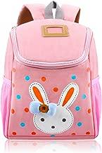 Vox Toddler Backpack for Girls Little Kids Backpack Cute Rabbit Cartoon Backpack Preschool Bags, Pink