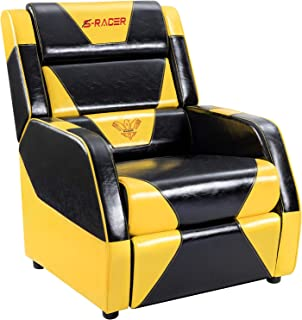 Homall Gaming Recliner Chair Living Room Sofa Single Recliner PU Leather Recliner Seat Home Theater Seating with Removable Cushions Sracer