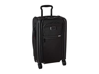 Tumi Alpha 3 International Dual Access 4 Wheeled Carry-On (Black) Luggage
