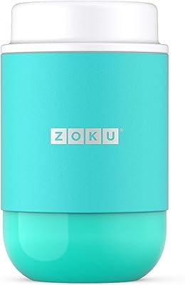 ZOKU フードジャーTeal 475ml ティールフードジャー 保冷保温 カラフルフードジャー 便利 お出かけ用 行楽 お弁当 Food jar teal ブルー ZK306-TL