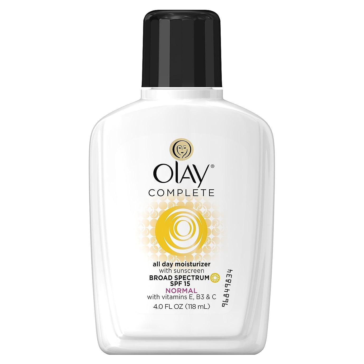 滑る病者わなOlay Complete UV Protective Moisture Lotion, SPF 15, 4-Fluid Ounce (並行輸入品)