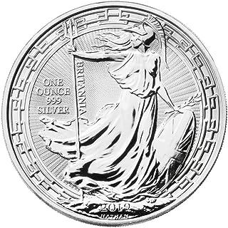 Silver Britannia Oriental Border 2019 Moneda de plata de 1 onza