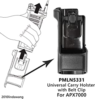 BLVL PMLN5331 Universal Carry Holder Holster Case for Motorola APX7000 Portable Radio