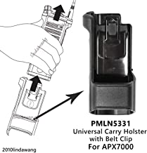 """VBLL PMLN5331 PMLN5331A Universal Carry Holder Case with 3"""" belt clip for Motorola APX7000 Portable Radio"""