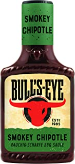 "Bull""s Eye Smokey Chipotle BBQ Sauce, Squeezeflasche, 6er Pack 6 x 300 ml"