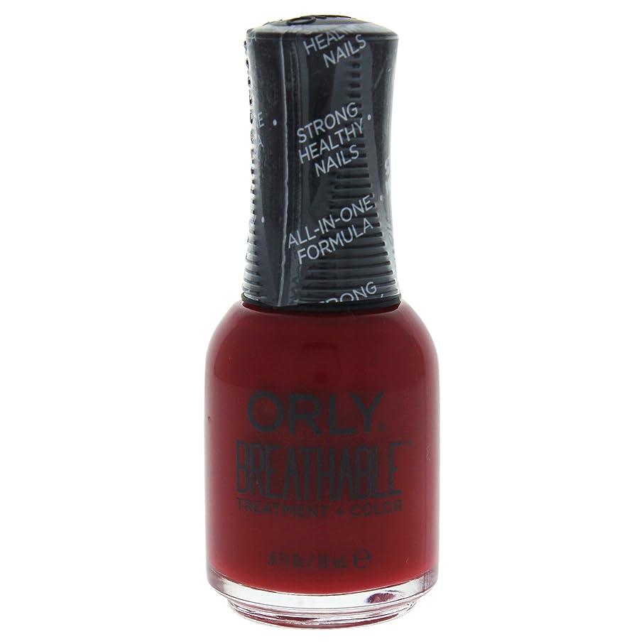 厳密に従来の取得するOrly Breathable Treatment + Color Nail Lacquer - Namaste Healthy - 0.6oz / 18ml