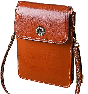 Genuine Leather Crossbody Bags Women for Women Small Shoulder Bag for Girl Lady